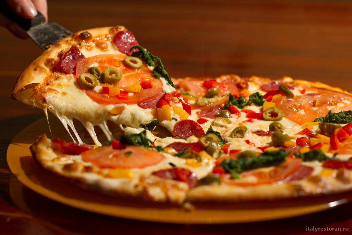 Отличие итальянской пиццы от американской